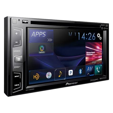 Pioneer® - Double DIN DVD/CD/AM/FM/MP3/WMA/FLAC/AAC/MP4