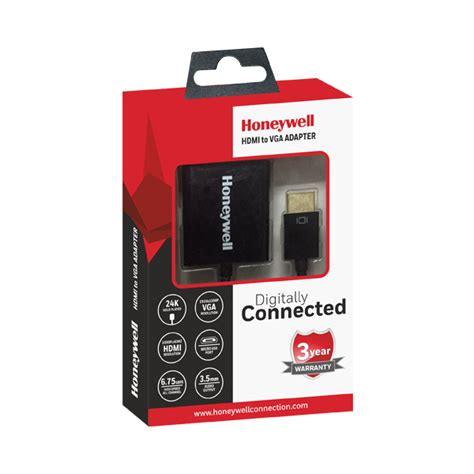 HDMI to VGA Adapter – Honeywell Connection
