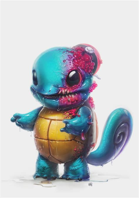 Squirtle I choose ugh! by Ricardo Chucky - TheArtHunters