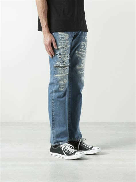 Lyst - Hysteric Glamour Straight Leg Jean in Blue for Men