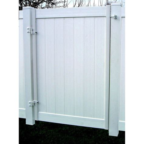 Jewett-Cameron Single Privacy Fence Gate Frame | Hoover