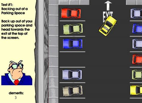 Driver's Ed game - FunnyGames