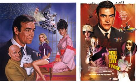 Illustrated 007 - The Art of James Bond: You Only Live
