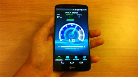 Check your Internet Speed on Android - Ookla Speedtest