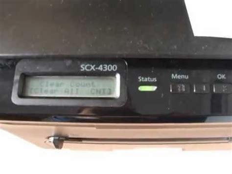 Reset chip Printer Samsung SCX-4300 by Software | Doovi