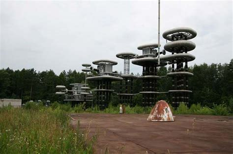 Drone Footage of Russia's Mysterious Marx Generator - Cult