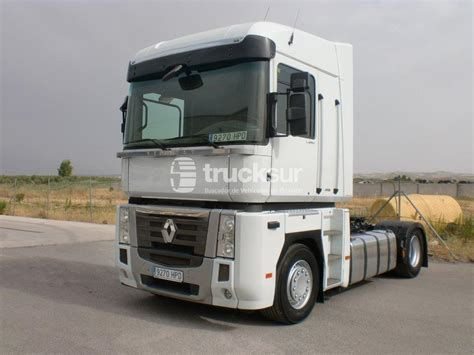 Renault MAGNUM 480 DXI tractor unit from Spain for sale at