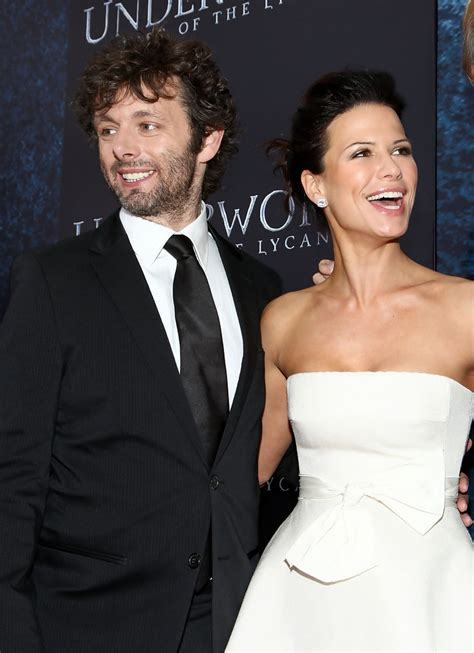 Rhona Mitra and Michael Sheen Photos Photos - Premiere Of