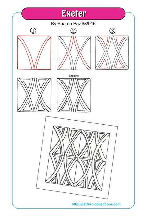 2274 best images about Zentangle Patterns