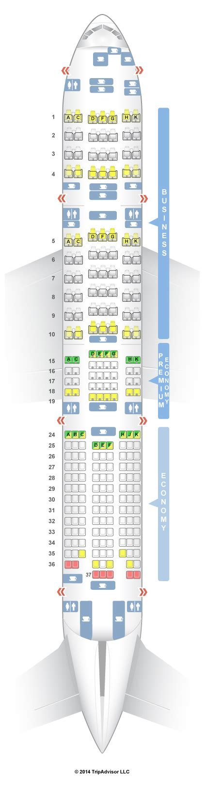 SeatGuru Seat Map ANA