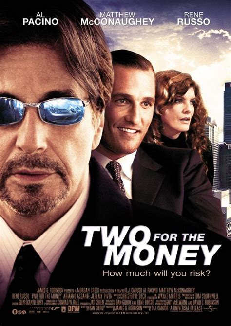 Two For the Money Movie Poster (#2 of 2) - IMP Awards