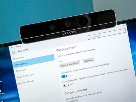How to set up Windows Hello facial recognition in Windows