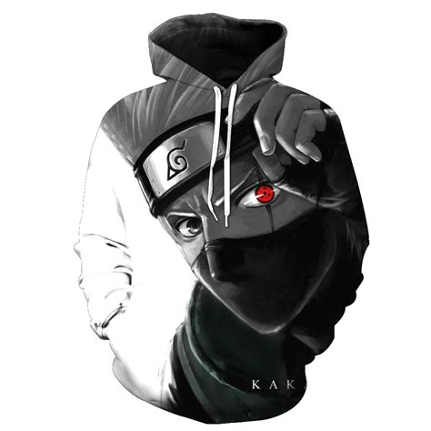 Drop shipping Cartoon Naruto 3d Anime Hatake Kakashi