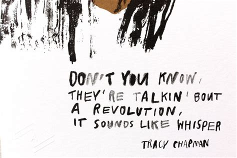 TRACY CHAPMAN QUOTES image quotes at relatably