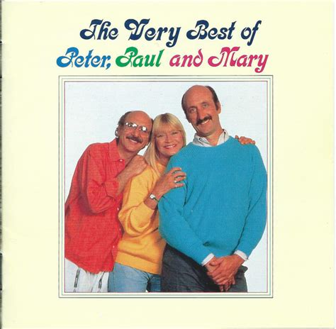 Peter, Paul & Mary - The Very Best Of (1990, CD) | Discogs