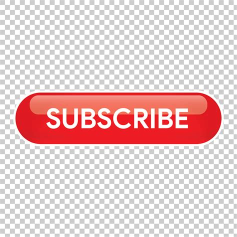 Red Subscribe Button PNG Image Free Download Searchpng