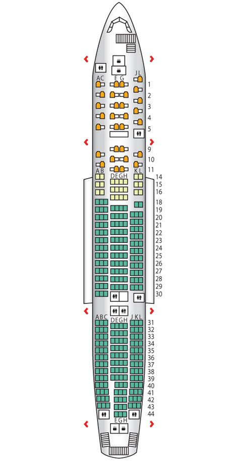 B777-200ER | Alitalia | Seat Maps | Reviews | Seatplans