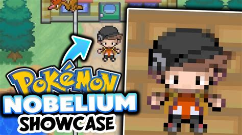 WE PLAY A COMPLETED FAN GAME!? - (Pokémon Nobelium Fan