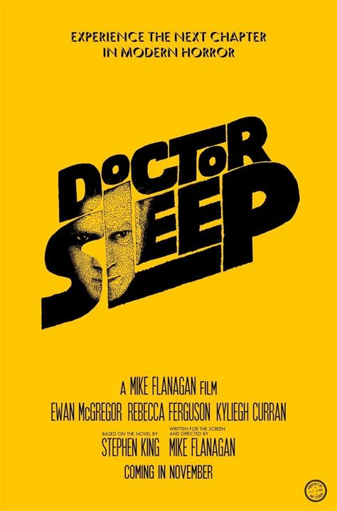 Doctor Sleep | Doctor sleep, Dr sleep, Dr sleep movie