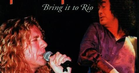 Rock Anthology: Jimmy Page and Robert Plant - Bring It To