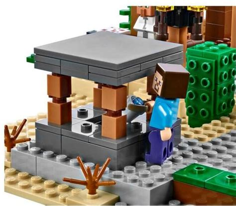 New 1,600-Piece Lego Minecraft Toy Set Announced, See It