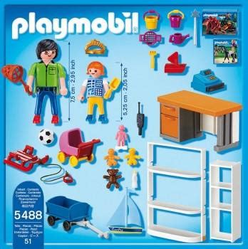 PLAYMOBIL Toy Shop 5488 – Toys2Learn