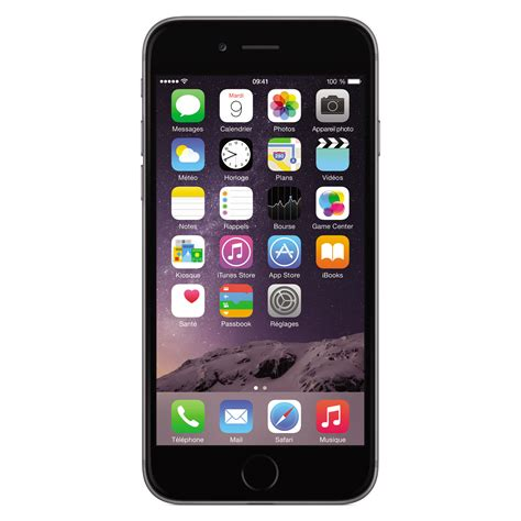 Apple iPhone 6 64 Go Gris Sidéral - Mobile & smartphone