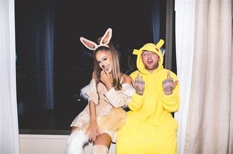 Ariana Grande and Mac Miller's Halloween Couple Costumes