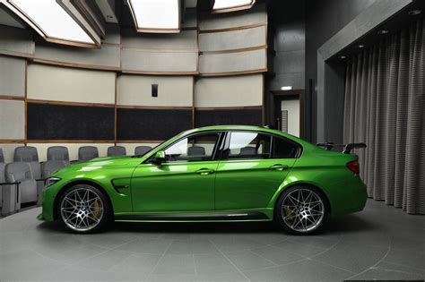 Java Green BMW M3 Dripping In M Performance Parts Looks