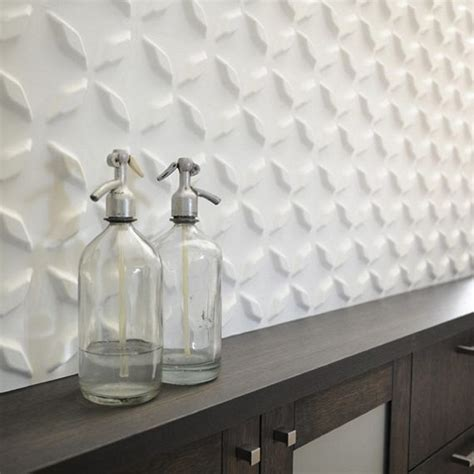 3D Wall Panels Add Seamless Embossed Patterns To Your Wall