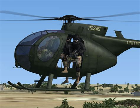 Md Helicopters Md 500 Defender Fsx - Helicopter Fsx - Fsx