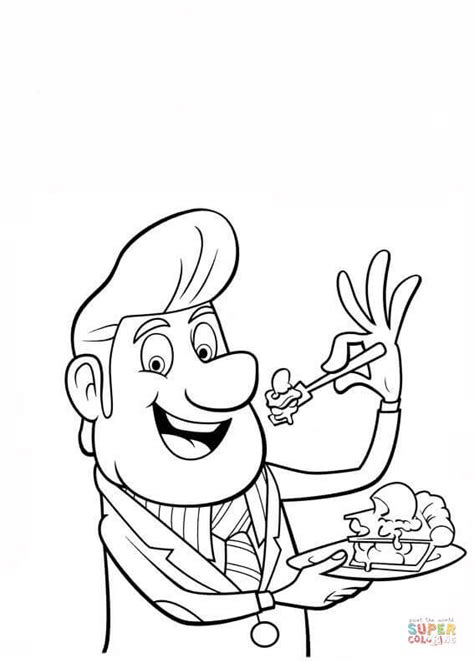 Mayor Shelbourne coloring page | Free Printable Coloring Pages