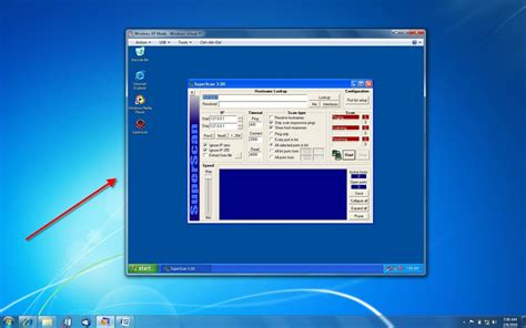 Using Windows XP Mode for security testing in Windows 7