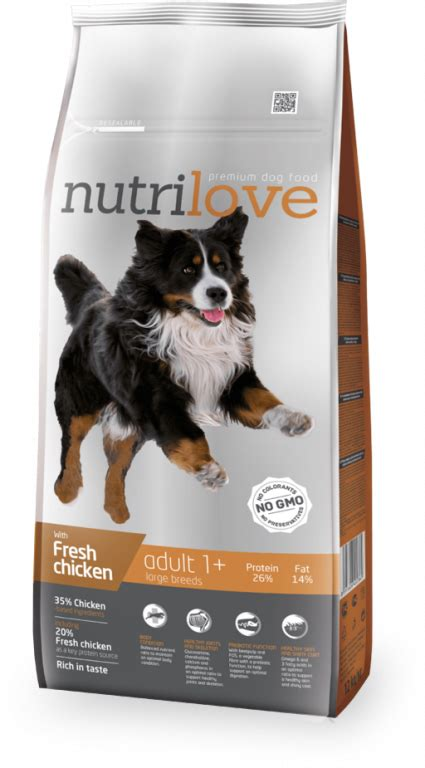 NUTRILOVE DOG SZÁRAZ ADULT LARGE | pacsizoo